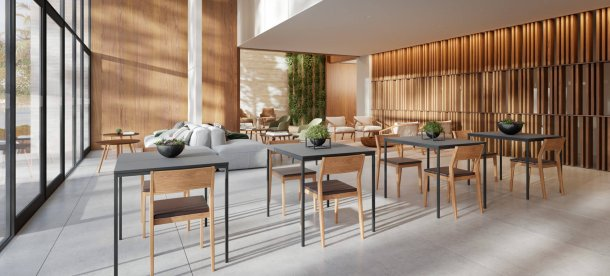 Open Lounge / Salão de Festas